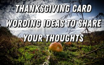 Thanksgiving Card Wording Ideas to Share Your Thoughts