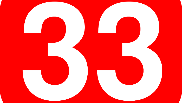 What Does 33 Mean In Numerology?