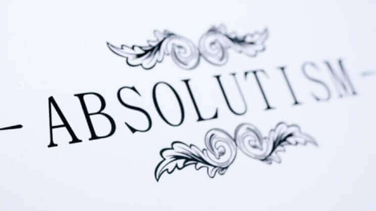 What Was Absolutism and Political Theory? History of the Absolutism