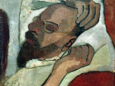 Otto Modersohn Sleeping, Paula Modersohn-Becker, 1906