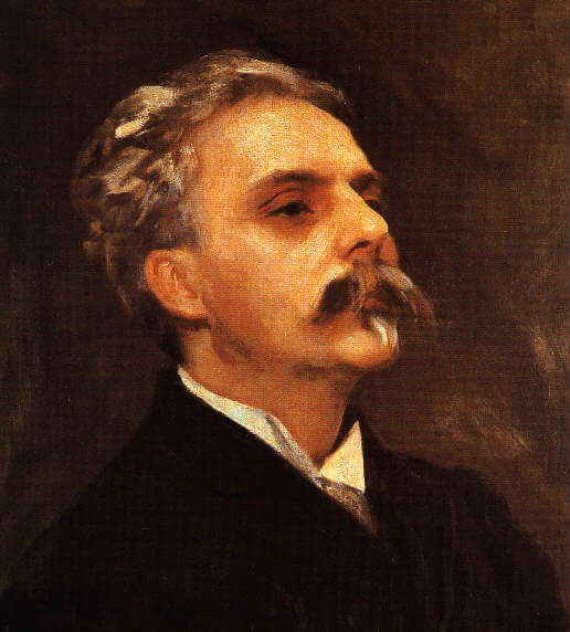 Painting of Gabriel Fauré by John Singer Sargent, 1889