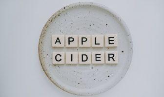Properties of organic apple cider vinegar