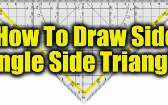 How To Draw Side Angle Side Triangle