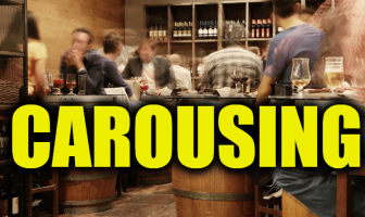 "Use Carousing in a Sentence - How to use ""Carousing"" in a sentence"