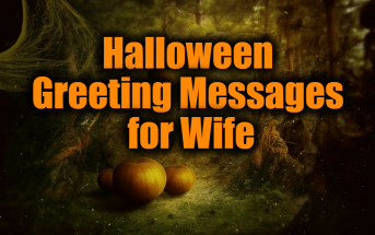 Halloween Greeting Messages for Wife – Halloween Wishes