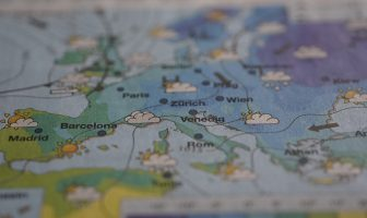 How are weather maps made?