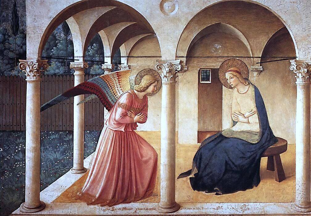 Annunciation, c. 1440-1445