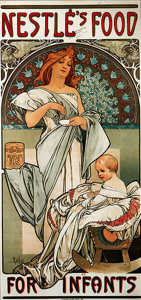 Alphonse Mucha Biography & Selected Works (Czech Art Nouveau Artist)