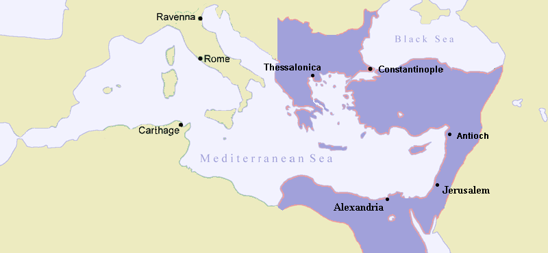 Eastern Roman Empire, c. AD 480