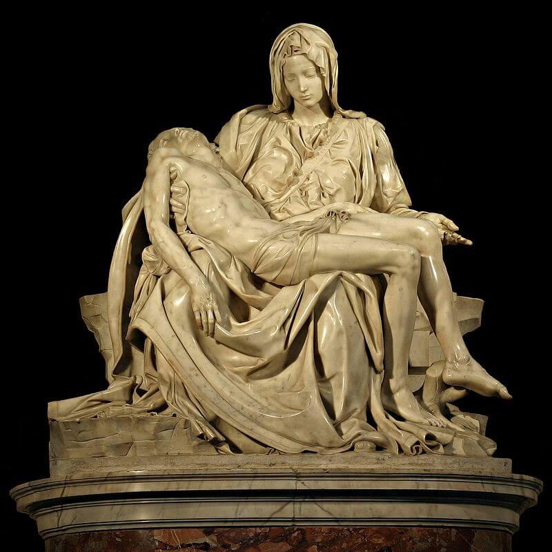 Pietà, St Peter's Basilica (1498–99)
