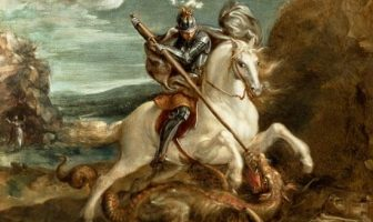 Who is Saint George? George of Lydda, was a Soldier of Cappadocian Greek Origins