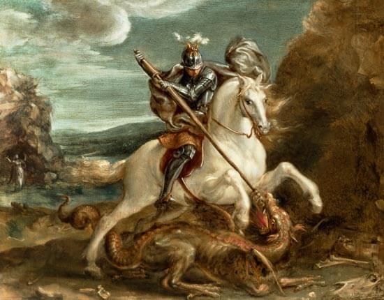 Who is Saint George? George of Lydda, was a Soldier of Cappadocian Greek Origins