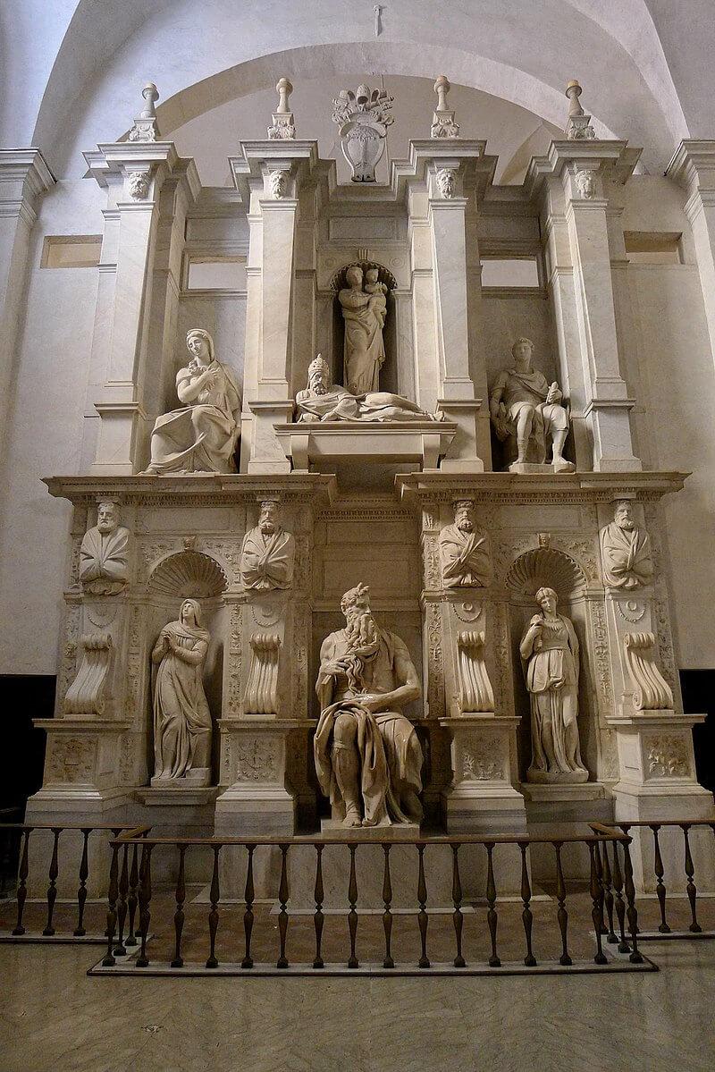 Tomb of Julius II, 1505-1545