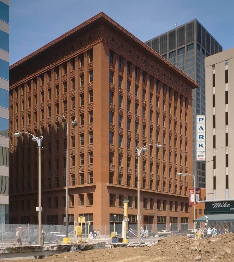 Louis Henry Sullivan - Wainwright Building