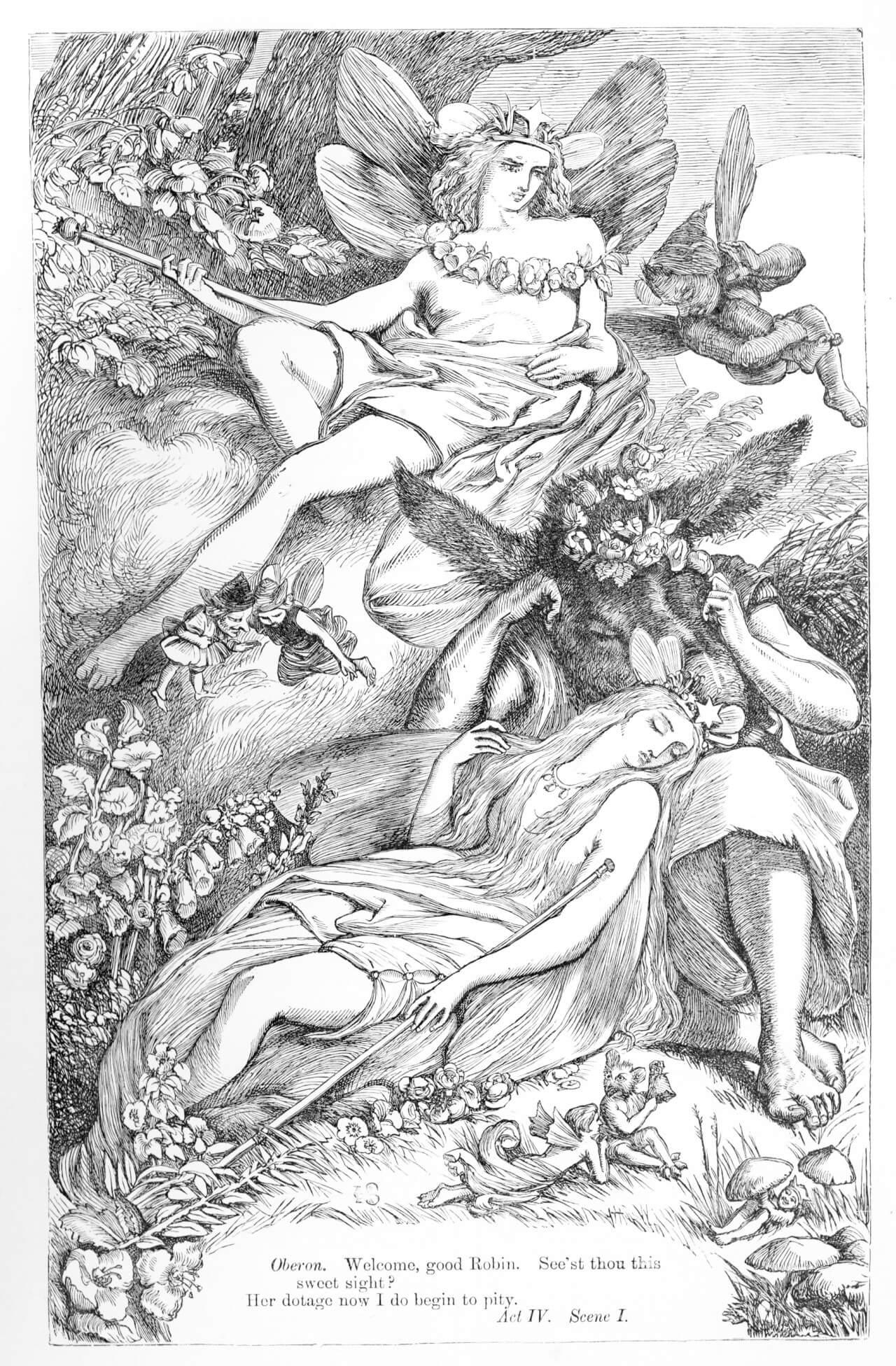 A Midsummer Night's Dream (William Shakespeare) - Short Summary