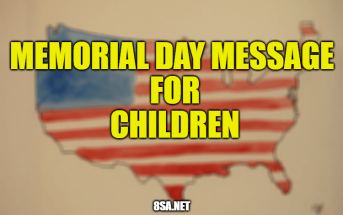 Memorial Day Message for Children