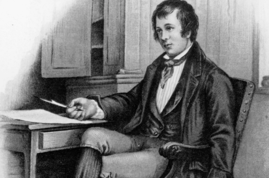 Robert Burns Biography and Works (Most Famous Scottish Poet)