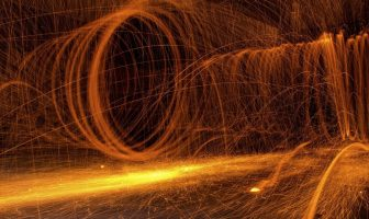 How does heat travel by convection?