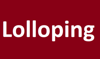 Use Lolloping in a Sentence