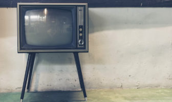 use television in a sentence
