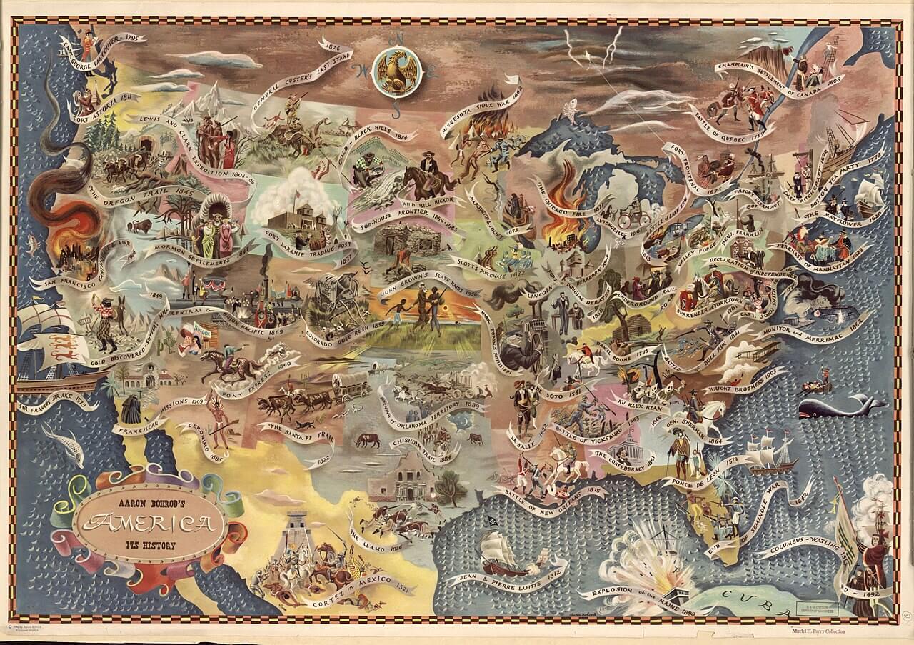 Bohrod's America, its history