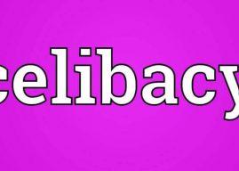 Celibacy in a Sentence