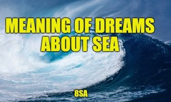 Meaning of Dreams About Sea