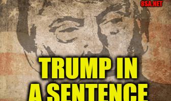 Trump in a Sentence