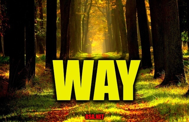 Way - Sentence for Way - Use Way in a Sentence