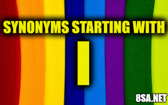 Synonyms starting with I