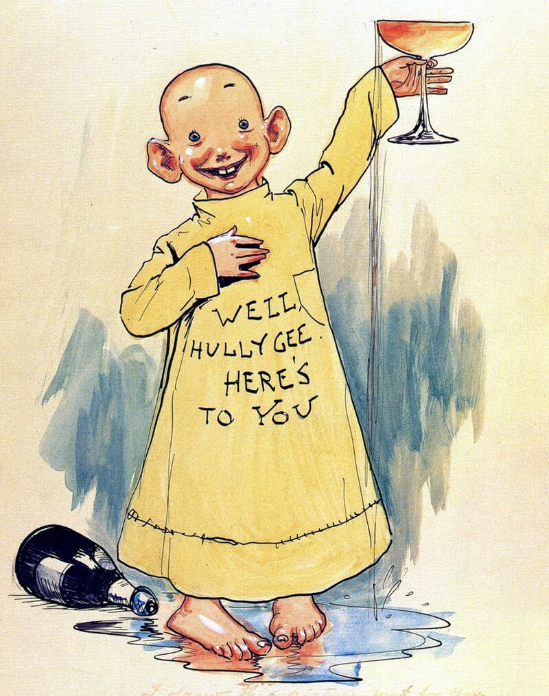 The Yellow Kid, published by both New York World and New York Journal