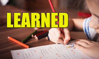 "Use Learned in a Sentence - How to use ""Learned"" in a sentence"