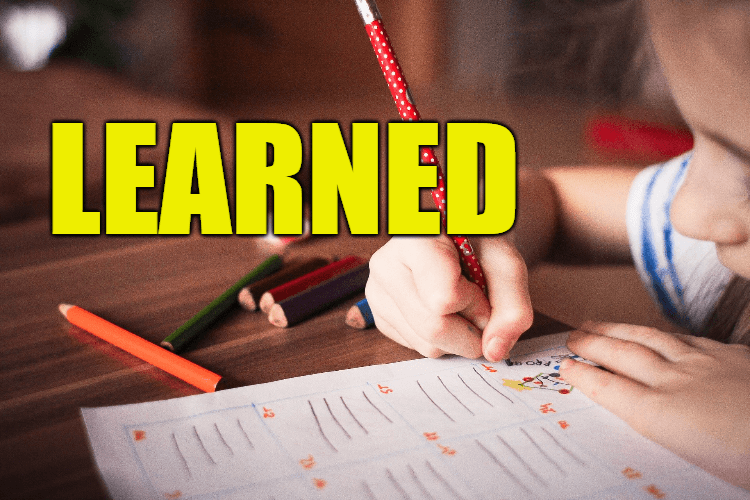 """Use Learned in a Sentence - How to use """"Learned"""" in a sentence"""