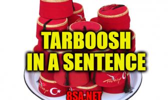 Tarboosh in a Sentence