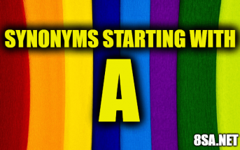 Synonyms starting with A