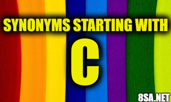 Synonyms starting with C