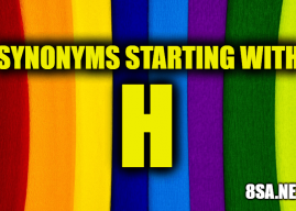 Synonyms starting with H – Synonyms For Words Starting With H