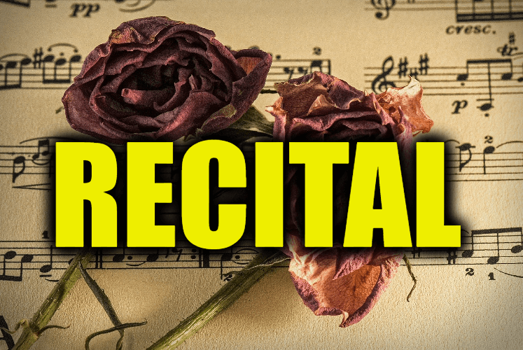 """Use Recital in a Sentence - How to use """"Recital"""" in a sentence"""