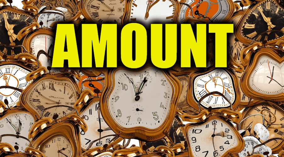 "Use Amount in a Sentence - How to use ""Amount"" in a sentence"