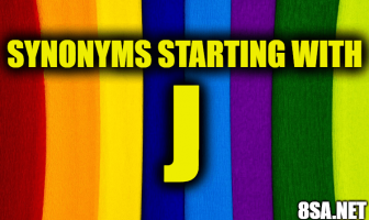 Synonyms starting with J