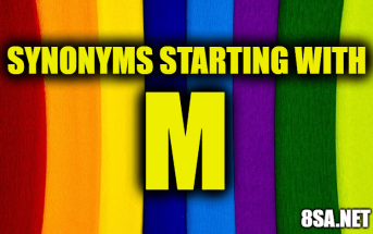 Synonyms starting with M