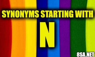 Synonyms starting with N