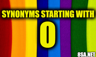 Synonyms starting with O