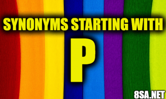 Synonyms starting with P