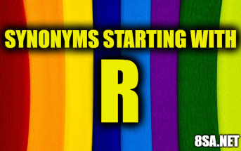 Synonyms starting with R