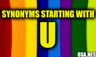 Synonyms starting with U