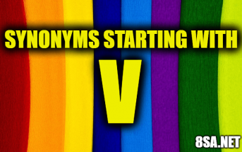 Synonyms starting with V