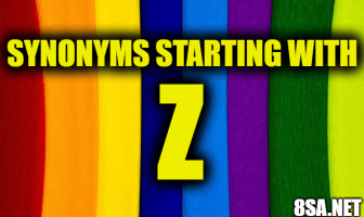 Synonyms starting with Z