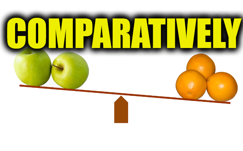 "Use Comparatively in a Sentence - How to use ""Comparatively"" in a sentence"