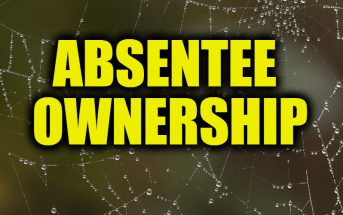 What is Absentee Ownership?